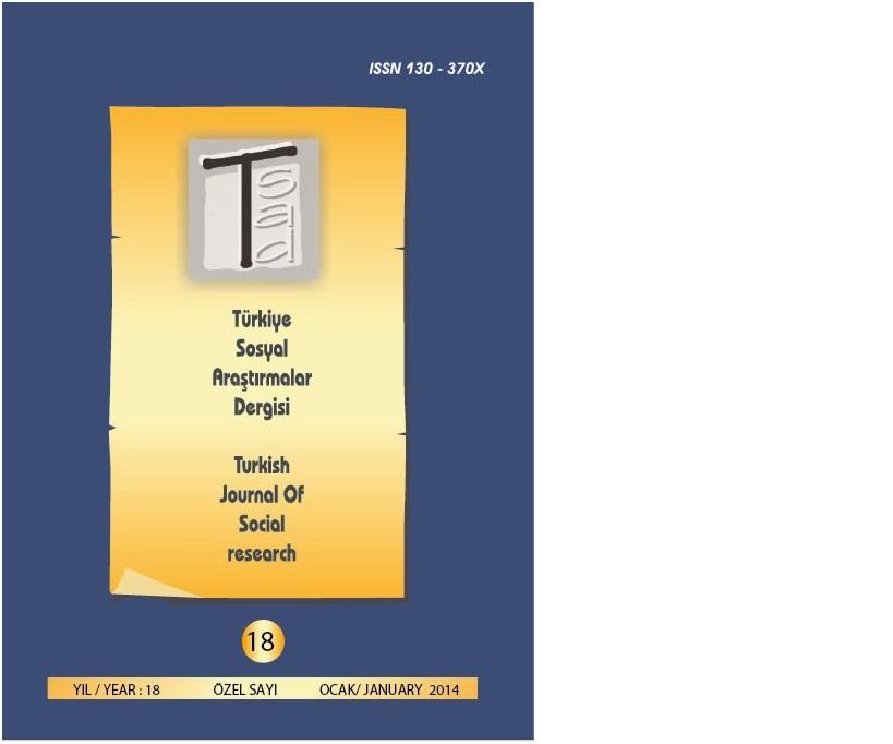 Genel Yayın Yönetmenimiz Selin Süar'ın Makalesi, Türkiye Sosyal Araştırmalar Dergisi'nde