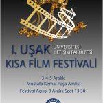 Azizm Yapımı Kısa Filmler 1. Uşak Üniversitesi Kısa Film Festivali'nde