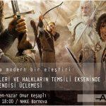 """Onur Keşaplı """"Orta Dünyaya Modern Eleştiri"""" ile Bornova Nazım Hikmet Kültürevi'nde"""