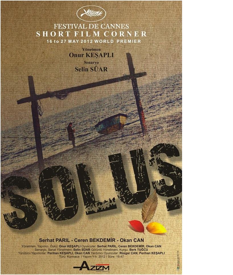 """Ödüllü Kısa Filmimiz """"Soluş"""" Yayında"""