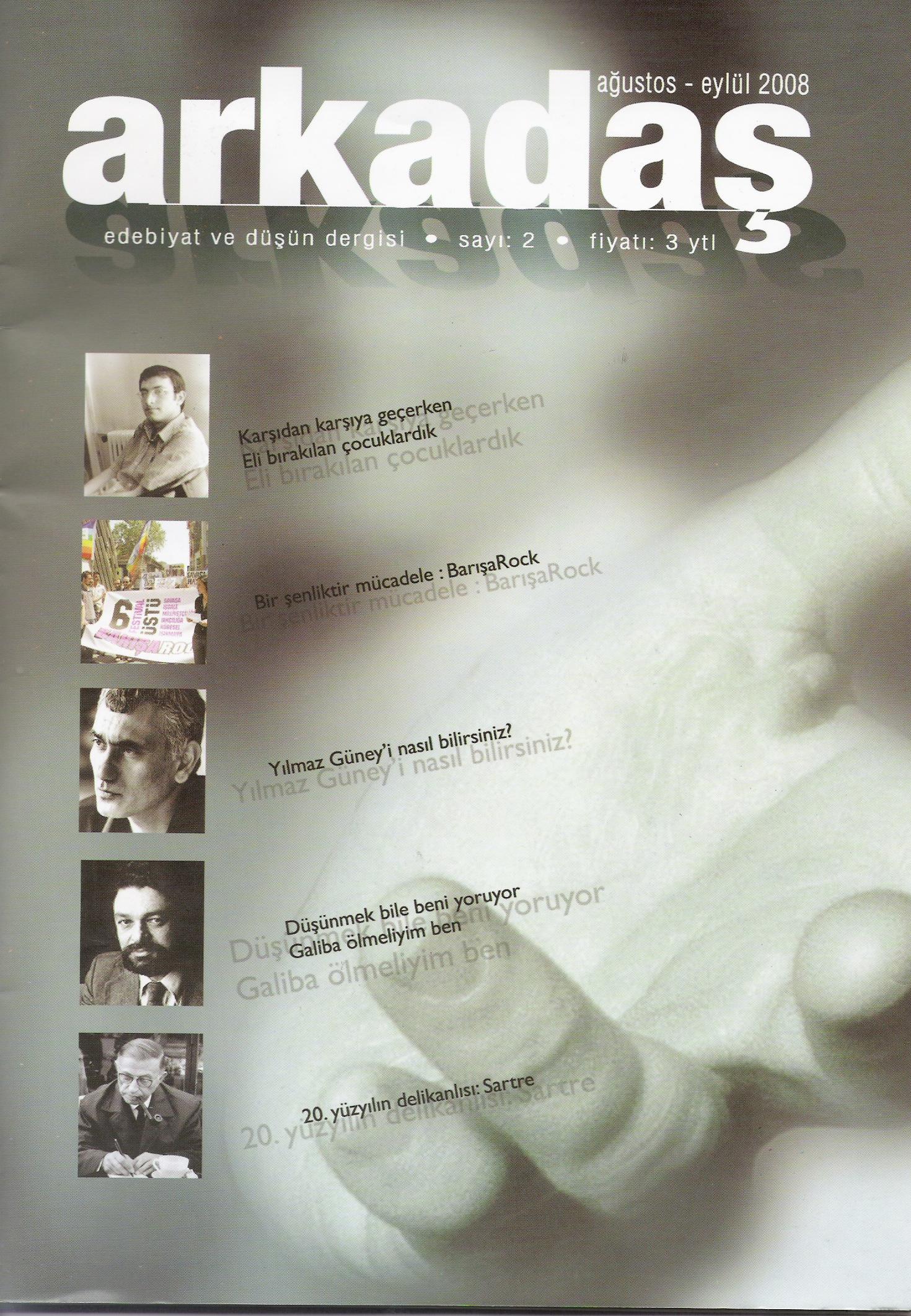 Arkadaş Dergisi – Ağustos/Eylül 2008