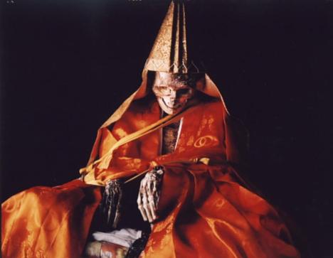 9. Shinnyokai Shoninin yaşayan mumyası Dainichibo Tapınağı Yamagata Japonya
