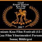 Uşak Kısa Film Yönetmenleri Forumu Sonuç Bildirgesi Yayınlandı