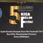 Uşak Kanatlı Denizatı Kısa Film Festivali, Kısa Film Yönetmenleri Forumu Sonuç Bildirgesini Yayınlandı